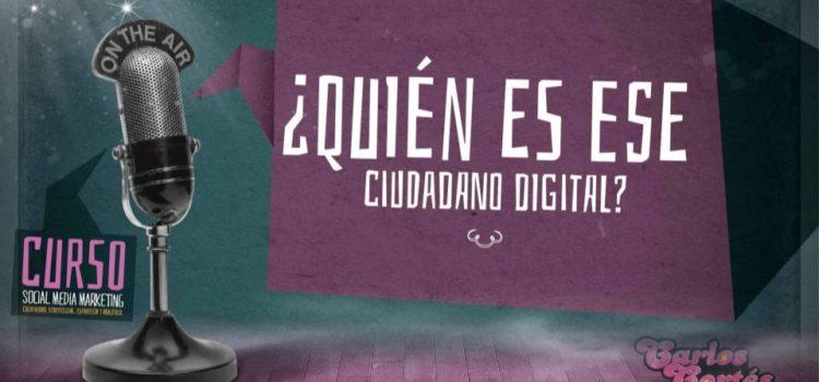 ¿Quiénes son los Ciudadanos Digitales?