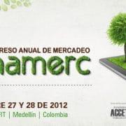 Balance presencia Carlos Cortés en CONAMERC 2012 (Medellín)