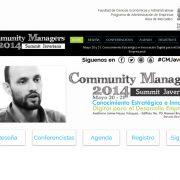 Carlos Cortés en el Community Managers Summit 2014 de la Universidad Javeriana (Bogotá)