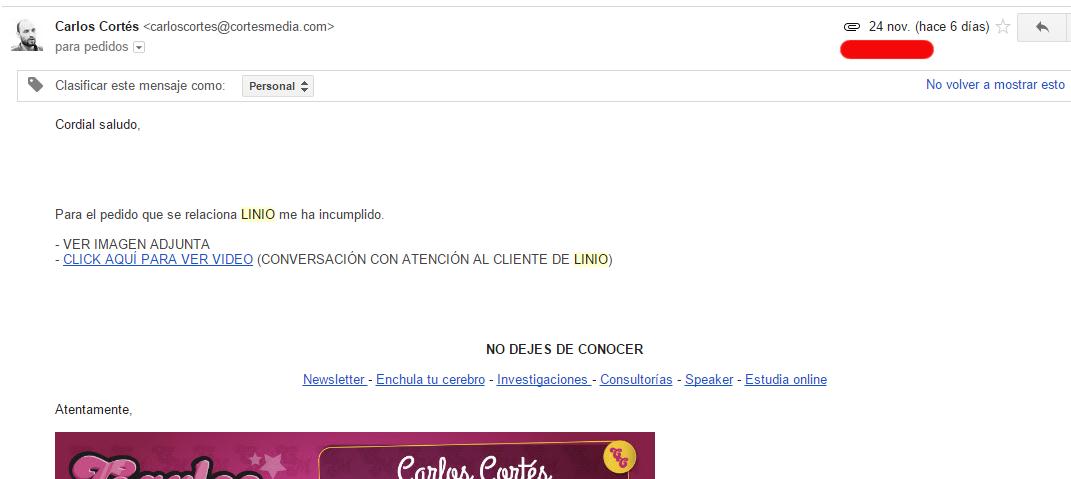 email-enviado-a-linio