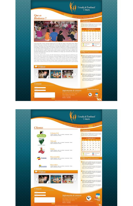 Escuela de Biodanza página web