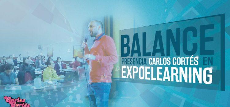 Balance presencia Carlos Cortés en ExpoElearning 2014