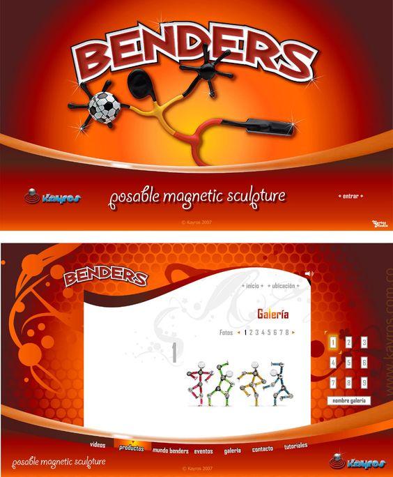 Benders sitio web