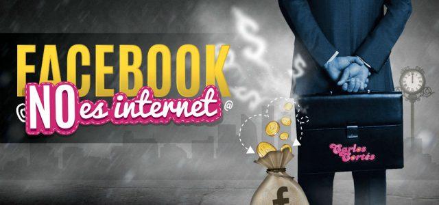 Facebook NO es Internet