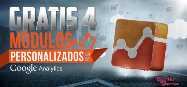 GRATIS 4 módulos personalizados básicos para Google Analytics
