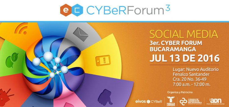 Carlos Cortés en el Cyber Forum 3