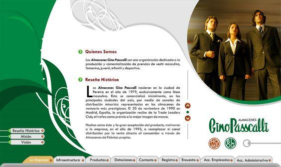 gino passcalli diseño de páginas web pereira