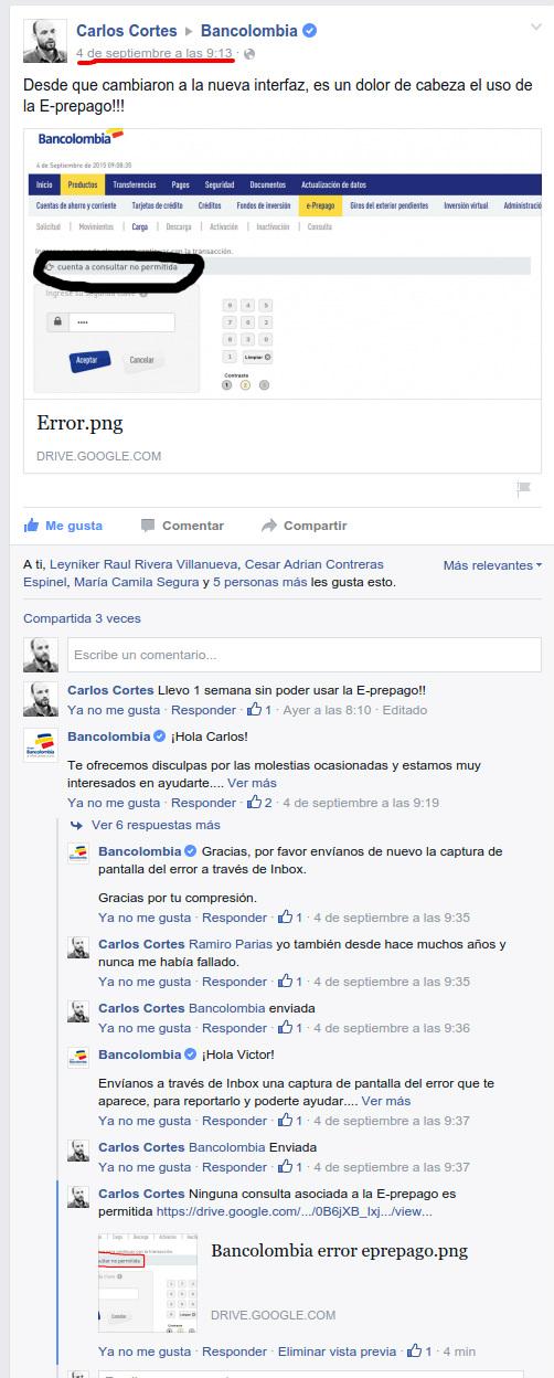 problema-bancolombia-carlos-cortes-caso-de-exito-en-redes-sociales