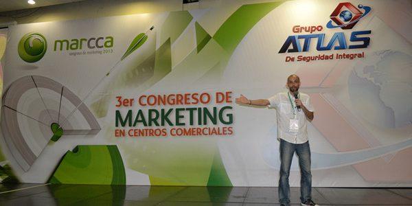 Balance presencia de Carlos Cortés en Marcca 2013 – Congreso de Marketing en Centros Comerciales –