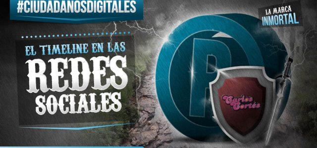 CIUDADANOS DIGITALES El timeline de las redes sociales