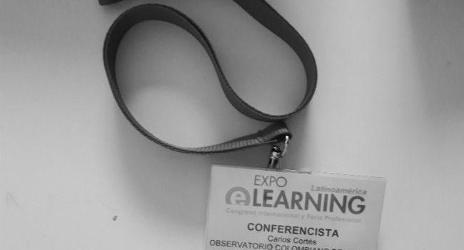 Balance de la presencia de Carlos Cortés en Expoelearning Latinoamérica 2013