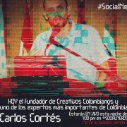 Carlos Cortés en #SocialNerds