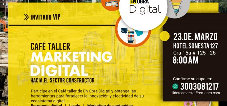 Capacitación en marketing B2B con la Revista En Obra