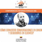 Carlos Cortés dará una charla online para la Universidad Benito Juárez (México)