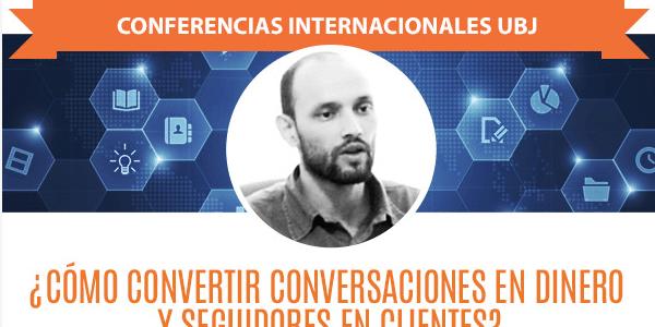 Conferencia de Carlos Cortés en la Universidad Benito Juárez (México)