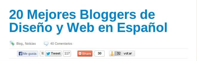 El Blog de Carlos Cortés en la selección de Creadictos