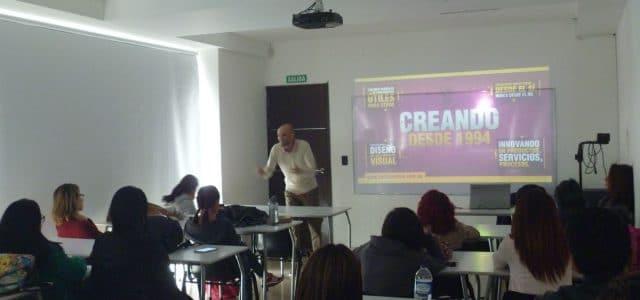Carlos Cortés en la Universidad Arturo Tejada Cano