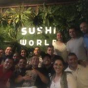 Consultoría en Branding (ADN de marca) para Sushi World de Medellín