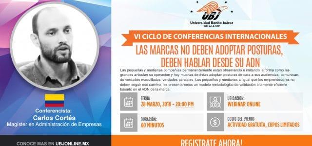 Balance Carlos Cortés en Webinar con la Universidad Benito Juárez (UBJ) de México