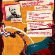 Balance conferencias Carlos Cortés en el Congreso CAMTIC 2011 en Costa Rica