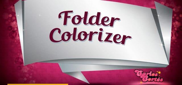 Folder Colorizer. Cambiar el color de las carpetas en Windows
