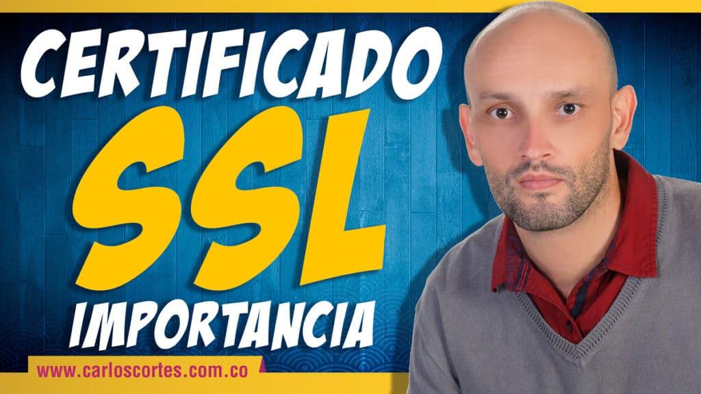 Los certificados SSL para páginas web