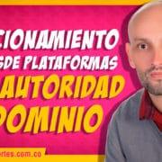 Posicionamiento SEO desde plataformas con autoridad de dominio