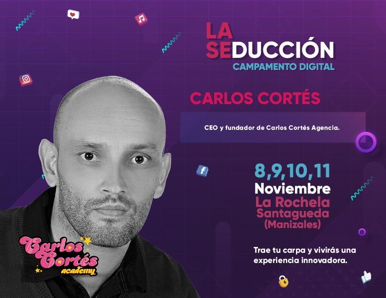Campamento digital en Manizales con Carlos Cortés