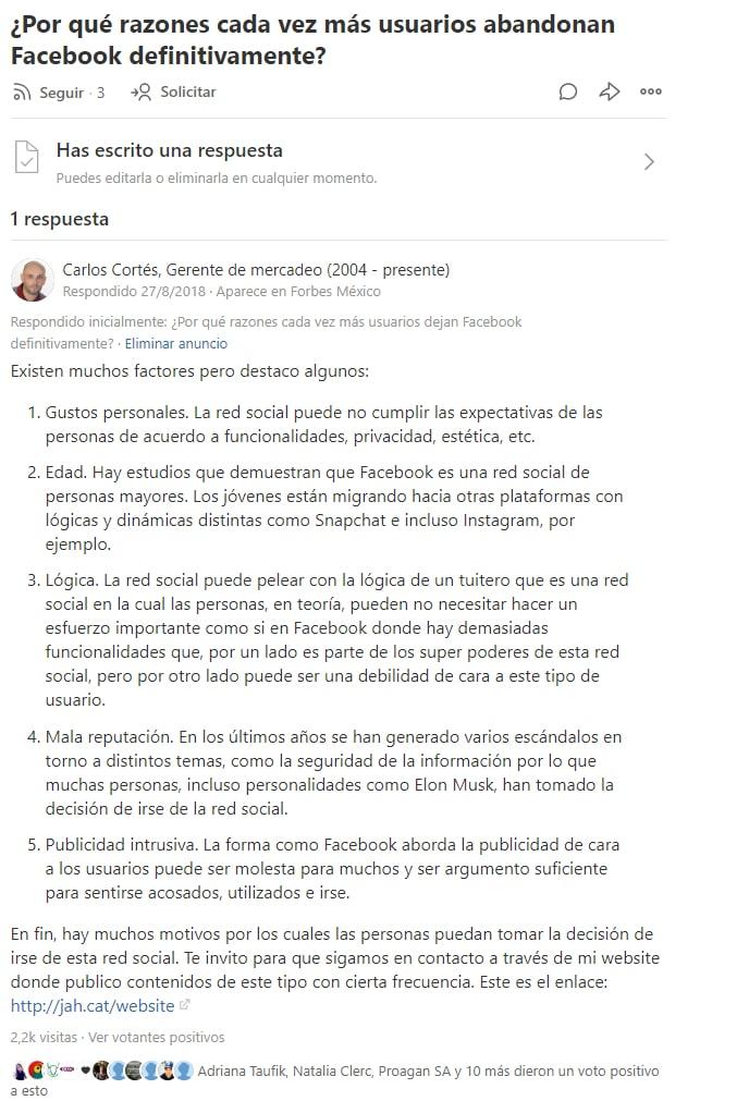 Cómo aparecer en Forbes México mediante Quora